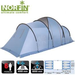 Шестиместная палатка Norfin Moss 6